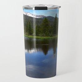 Peaceful Beaver Ponds View Travel Mug