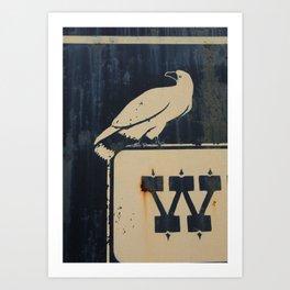 W BIRD Art Print