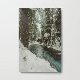 Adventure Awaits River II - Pacific Northwest Nature Photography Metal Print