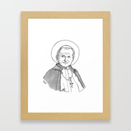 Pope St. John Paul II Framed Art Print