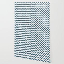 Chevron Teal Wallpaper