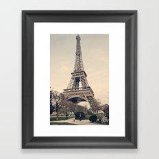 Good Morning Paris Framed Art Print
