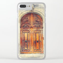 Trapani art 23 Sicily Clear iPhone Case