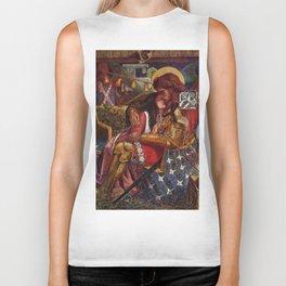 "Dante Gabriel Rossetti ""The Wedding of St. George and Princess Sabra"" Biker Tank"