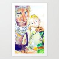 le petit prince Art Prints featuring Le Petit Prince by Halina  Jasińska photography