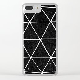 Geodesic Clear iPhone Case