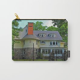 Old West End Edward D Libbey House I Carry-All Pouch