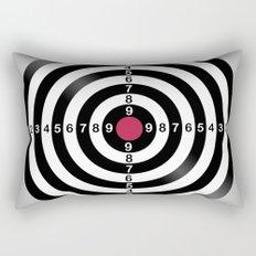 Dart Target Game Rectangular Pillow