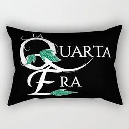LaQuartaEra_Black Rectangular Pillow