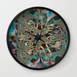 Moonbeams and Reflections Wall Clock