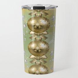 The Joy of Christmas - Gold Travel Mug