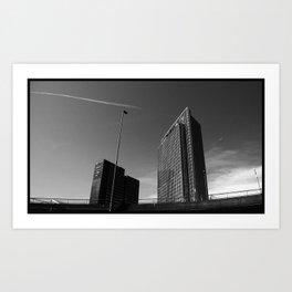 buildings @ Oslo Art Print