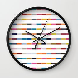 Dot // Dash // Dash // Dot Wall Clock