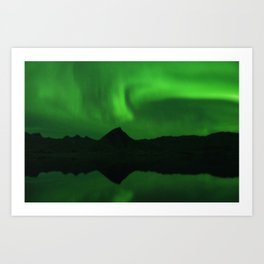 The Northern Lights 06 Art Print