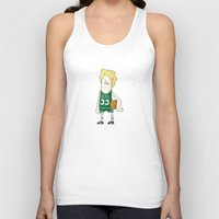 larry Tank Tops featuring Larry Bird by frappeboy