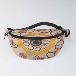 A coloured spinning card for a children's game. Coloured lithograph. Fanny Pack