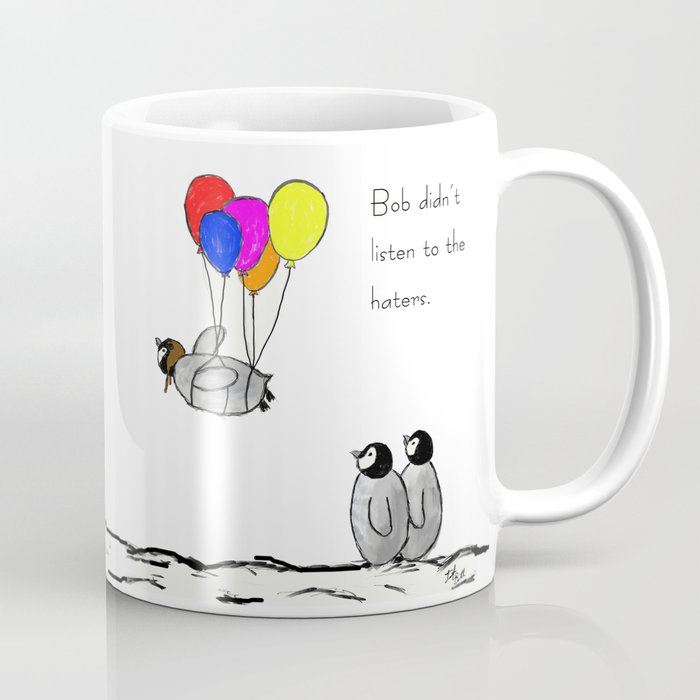 To be a Flying Penguin Coffee Mug