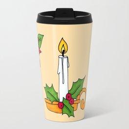 Merry Christmas! (yellow) Travel Mug