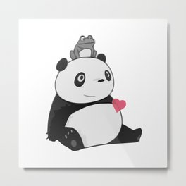 Panda 3 Metal Print