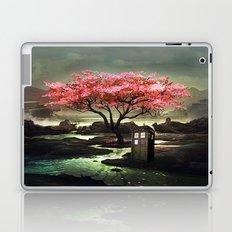 Tardis Blossom Art Painting Laptop & iPad Skin