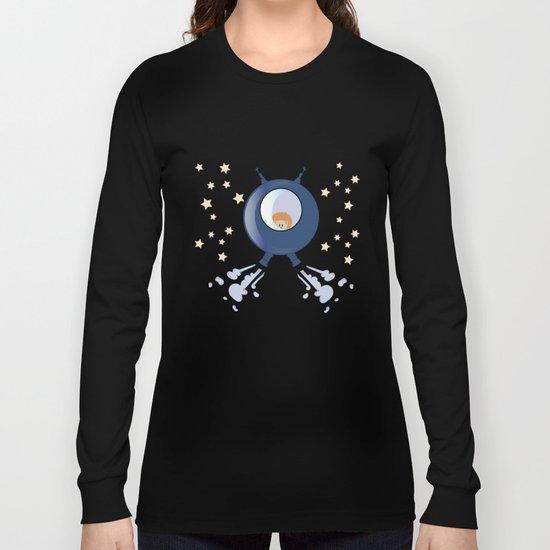 Hedgehog in space. Long Sleeve T-shirt
