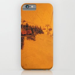 Sunshine Chairlift iPhone Case