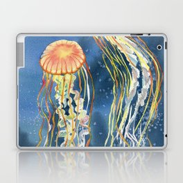 Dancing of Jellyfish Laptop & iPad Skin