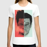 tyler durden T-shirts featuring Tyler Durden V. the Narrator by qualitypunk