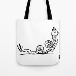 SMITTEN WITH A SNICKEN Tote Bag