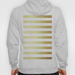 Simply Striped 24K Gold Hoody