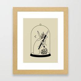 Bell Jar Framed Art Print