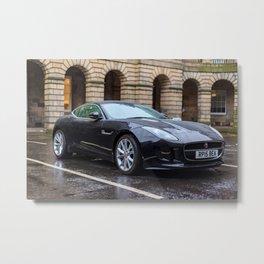 Jaguar in Edinburgh Metal Print