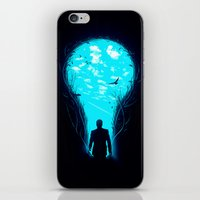 bright iPhone & iPod Skins featuring Bright Side by nicebleed