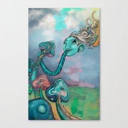 música comestible Canvas Print