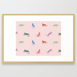 Leopard Pattern Framed Art Print