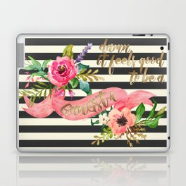 Damn It Feels Good to be A Gangsta Laptop & iPad Skin