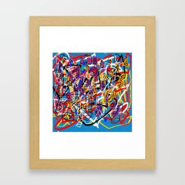 Laberinto 2 Framed Art Print