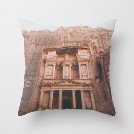 Petra IV Throw Pillow