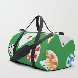 #casino #games #accessories #pattern 4 Duffle Bag