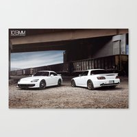 honda Canvas Prints featuring Honda S2000 by 1013MM