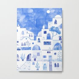 Santorini Metal Print