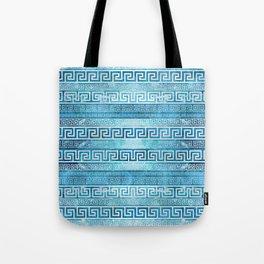 Greek Meander Pattern - Greek Key Ornament Tote Bag