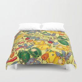 hot & spicy 2 Duvet Cover