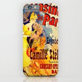 Vintage poster - Casino de Paris iPhone Case