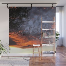 Fire in the Sky 2.0 Wall Mural