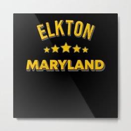Elkton Maryland Metal Print