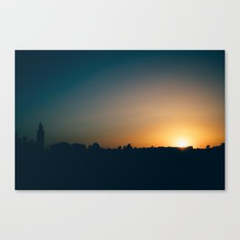 Moroccan Sunset Canvas Print