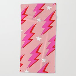 Barbie Lightning Beach Towel