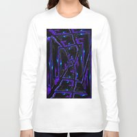 gothic Long Sleeve T-shirts featuring Gothic by David  Gough