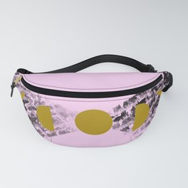 Of mountains & moons - lavender Fanny Pack